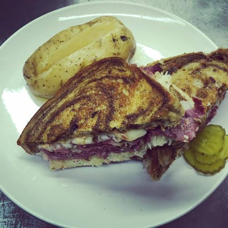 Onalaska, WI: Try our Reuben Sandwich!