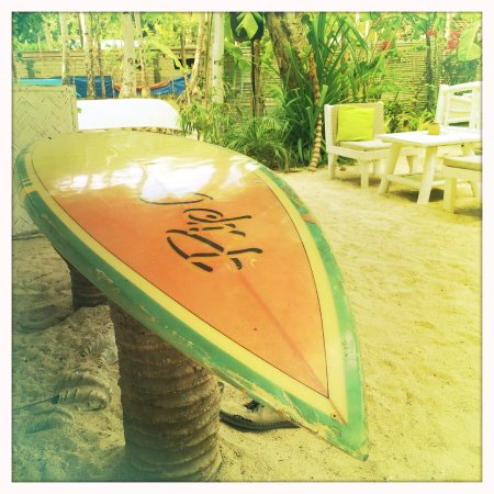 deco surf picture of la plage palawan island tripadvisor. Black Bedroom Furniture Sets. Home Design Ideas