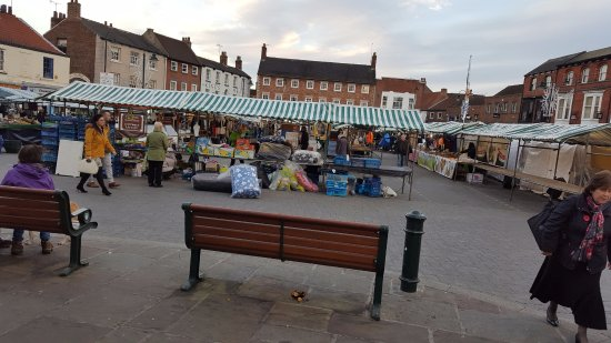 Beverley, UK: A wide variety of stalls