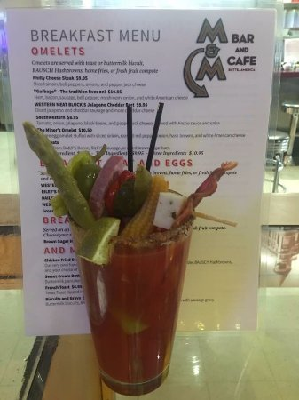 Butte, MT: The M&M's 'Loaded' Bloody Mary (or Caesar)