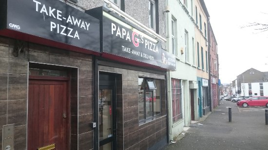 Strabane, UK: Papa G's Pizza