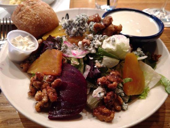 Malvern, Pensilvania: Beet salad