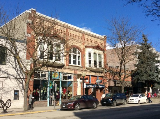 Nelson, Canada: downtown Baker Street