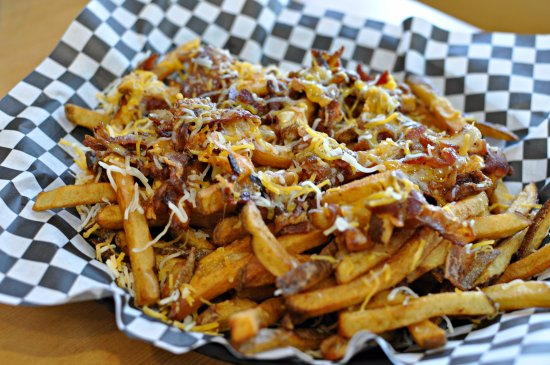 Moorhead, MN: Loaded Fries with cheese and bacon