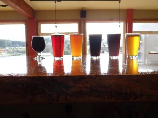 Depoe Bay, Oregón: Six Craft Beers