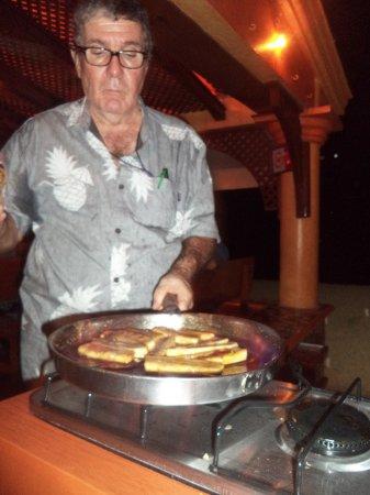 Pancho's: Firing up dessert