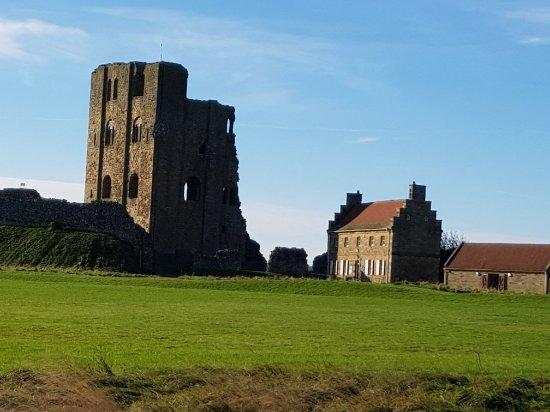 Scarborough Castle: November morning
