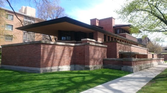 Frank Lloyd Wright's Robie House: Outside Robie House