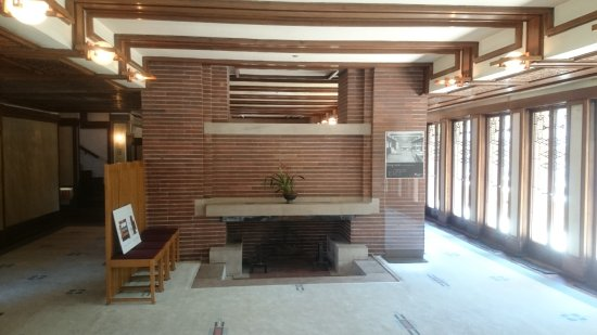 Robie House: Part of the interior