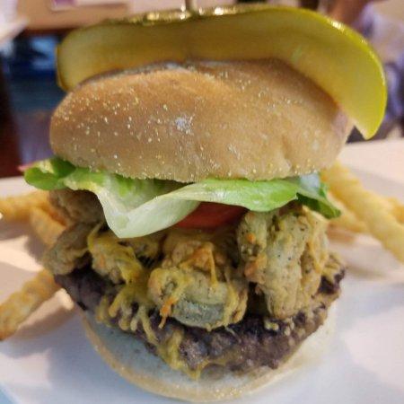 Pontotoc, Mississippi: Jalapeno Cheddar Burger
