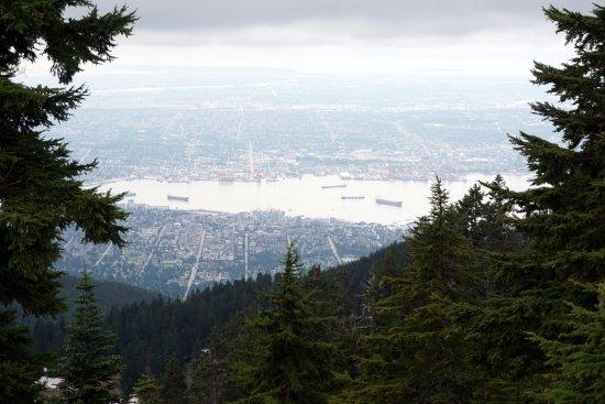 North Vancouver, Kanada: vista da cidade de Vancouver