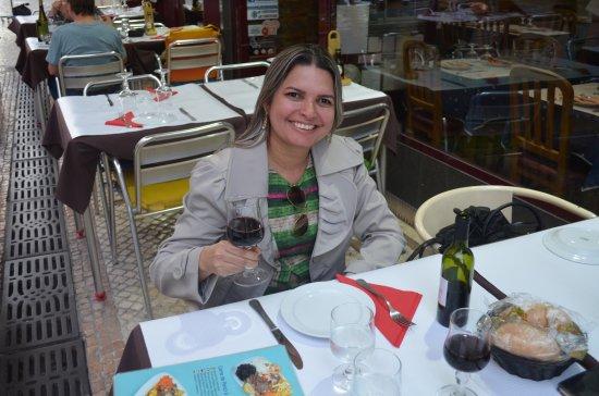 Rua da Baixa-Chiado onde fica o Restaurante Milano em Lisboa - Portugal