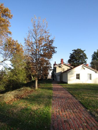 Frederick Douglass National Historic Site: Approaching from the back of the house