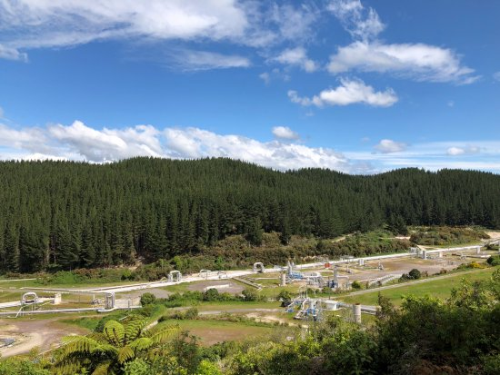 Wairakei Geothermal Power Station Visitor Center