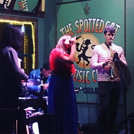 The Spotted Cat Music Club : pure jazz