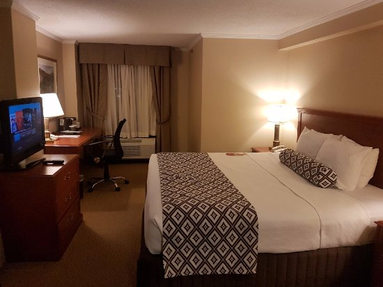 Crowne Plaza Toronto Airport: King Bed