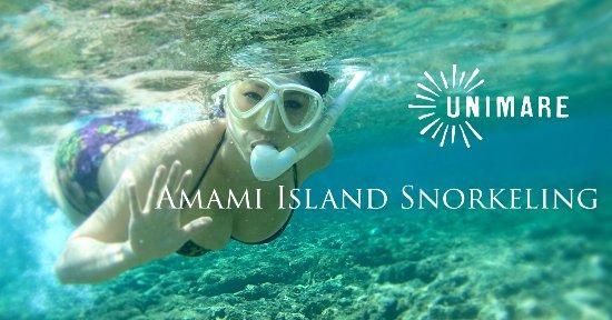 Amami, Ιαπωνία: UNIMARE=海とひとつに自然とひとつに