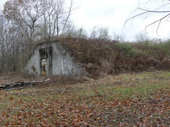 Romulus, NY: Munitions bunker