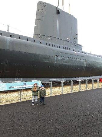 Госпорт, UK: Royal Navy Submarine Museum