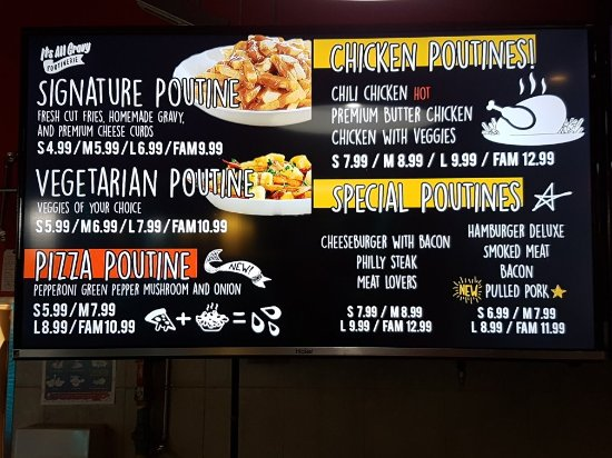 Oshawa, Canada: Its All Gravy Poutinerie