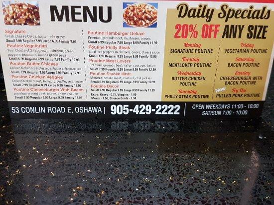 Oshawa, Canadá: Its All Gravy Poutinerie