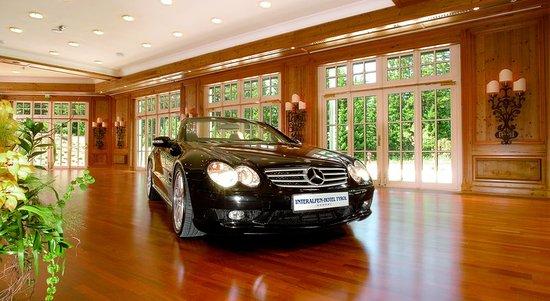 Interalpen-Hotel Tyrol: Car presentation in the Andreas-Hofer-Saal