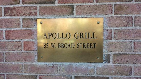 Bethlehem, بنسيلفانيا: Apollo Grill!