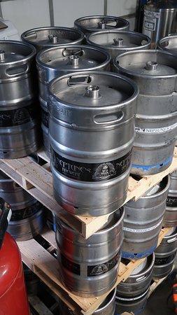 Livingston, Montana: Beer Vessels! AKA Kegs. 
