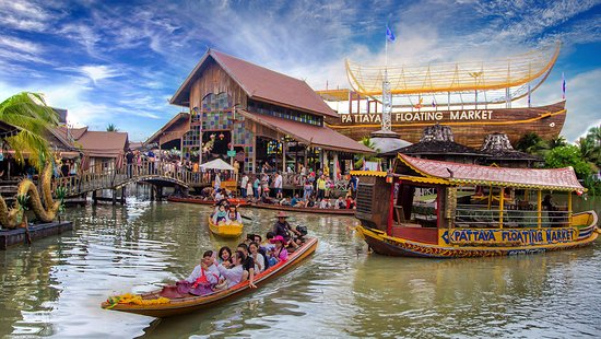 Image result for pattaya floating market