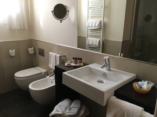 Tessera, Italia: Large clean bathroom