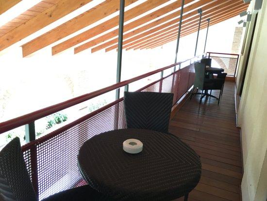 Tessera, Italia: Shared balcony