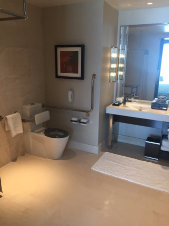 Wheel Chair Accessible Bathroom Picture Of Crown Towers Perth Burswood Tripadvisor