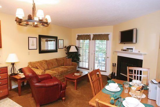 Francestown, NH: One Bedroom Living Area