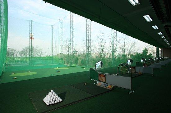 Banyan Tree Club & Spa Seoul: Golf Range