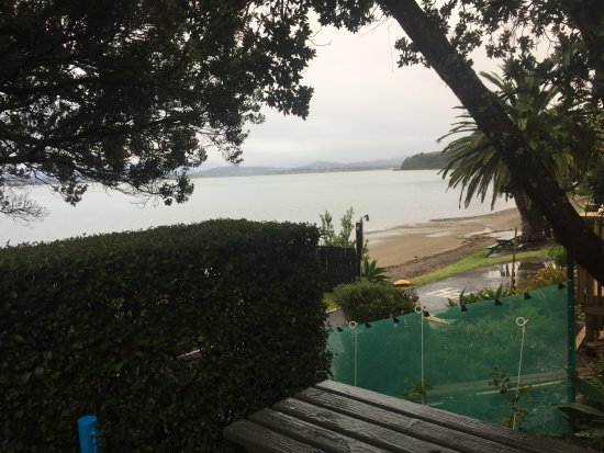 Blue Heron Waterfront Holiday Park: View from the cabin