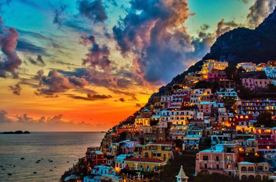 Promenade in Positano: Evening Small