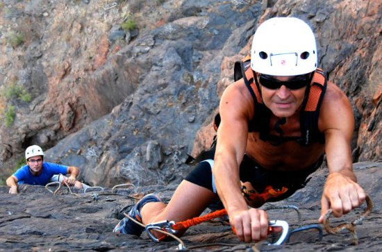 4-hour Via Ferrata Rock Climbing ...