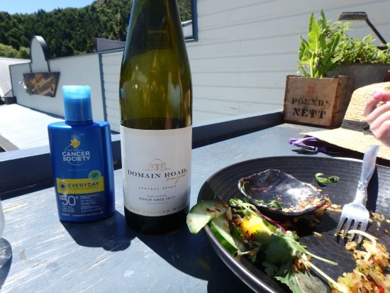 The Chop Shop Food Merchants : A beautiful wine in the sun!
