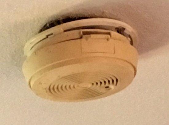 Howe, IN: Smoke detector.