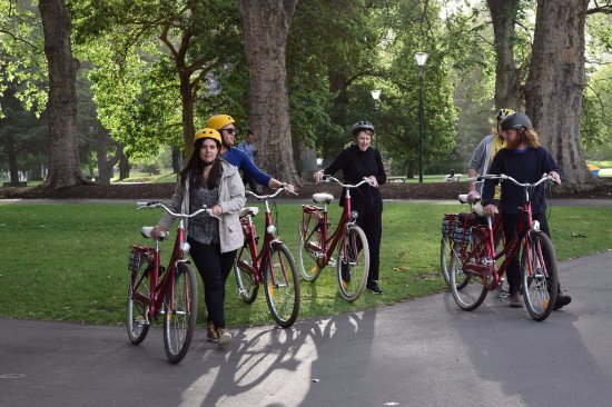 Freddy's Bike Tours: Carlton Gardens