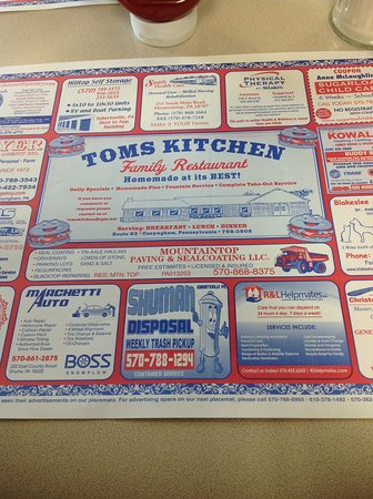 Conyngham, PA: Tom's Kktchen, Sugarloaf