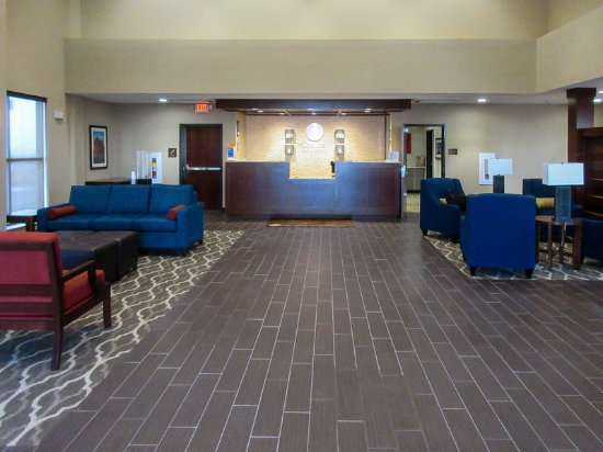 Edgewood, Νέο Μεξικό: Hotel lobby