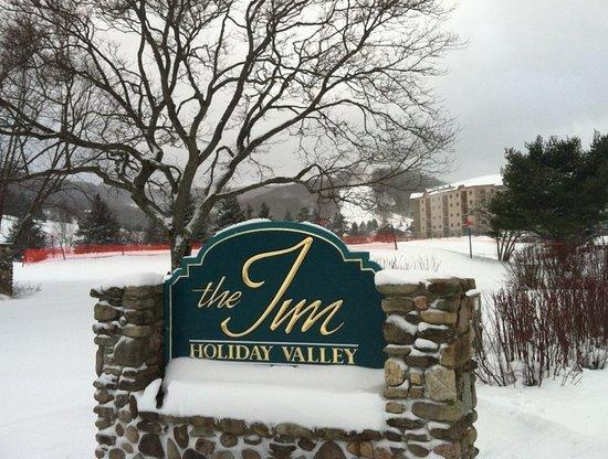 Ellicottville, NY: Snowy Inn And Mardi Gras