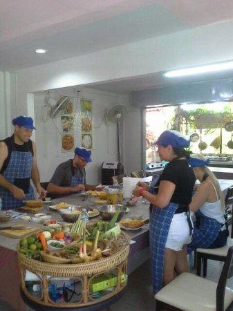 Rawai, Tailândia: We use fresh herbs.