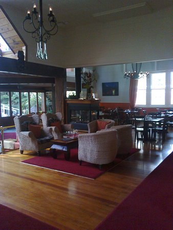 Whitianga, Nueva Zelanda: Cafe area at The Lost Spring