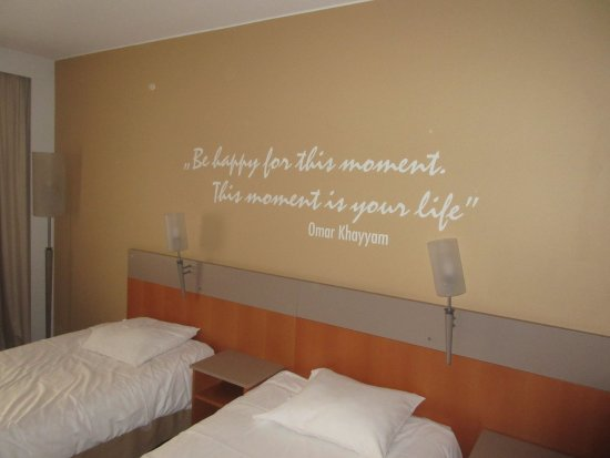 The Room Quotes   Inspirational Quotes In The Rooms Picture Of Novotel Katowice