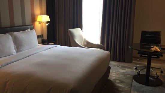 希爾頓集團旗下既酒店一如預期地滿意
