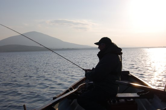 Fishing on Lough Conn, Pontoon, Co. Mayo