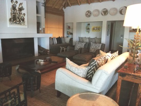 KwaZulu-Natal, Afrika Selatan: TV room.