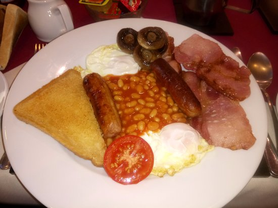 March, UK: The medium breakfast